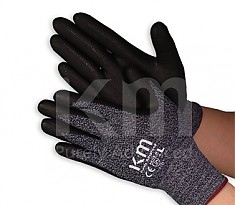 KM NBR COATING FORM GLOVE 산업용 작업 장갑 NAVY/BLACK