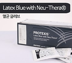 [멸균] PROTEXIS Surgical Gloves Latex Blue with Neu-Thera®