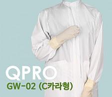 30주년 이벤트 [QPRO] 방진복/제전복/무진복 가운 기본 C카라형 (미얀마산)