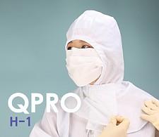 Q-DAY [QPRO] 방진후드/제전후드/무진후드  H-1 기본형 (미얀마산)