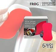 FROG 프로샤인 수세미 6개입