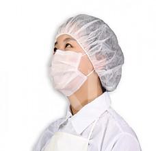 (12g)일회용 부직포 헤드캡 (폴딩형 100개입)