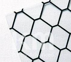 CONDUCTIVE PVC SHEET 정전기 방지 보호시트 (벌집무늬 투명)